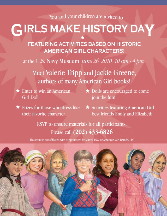 Girls Make History Day 2010