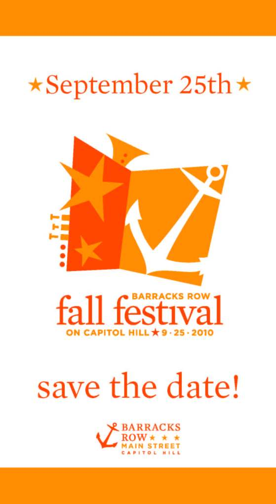 September 25 - Barracks Row Fall Festival on Capitol Hill!