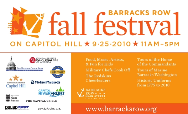 Barracks Row Fall Festival on Capitol Hill