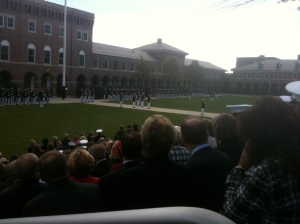 Change of Command at Marine Barracks Washington